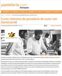 Artículo en pastelería.com